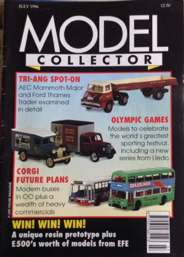ORIGINAL MODEL COLLECTOR MAGAZINE July 1996